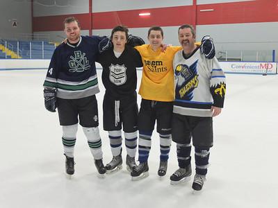Family hockey game 28 Nov 13