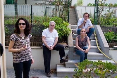 Dejeuner chez les Delpech - 12 Juillet 2008