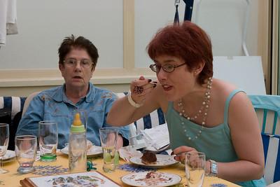Dejeuner chez les Delpech - 14 Juillet 2008