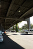 Under the Viaduct (that is due to be dropped soon) waiting for Rita to get off work.