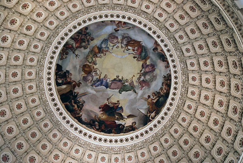 The US Capitol dome.