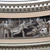A detail of the frieze around the US Capitol rotunda depicting the Wright Brother's flight.