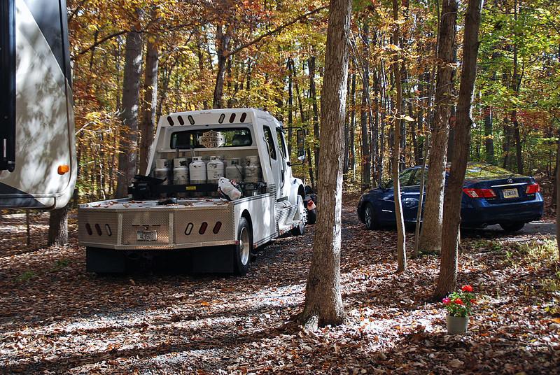 Arnie & Manette's truck.