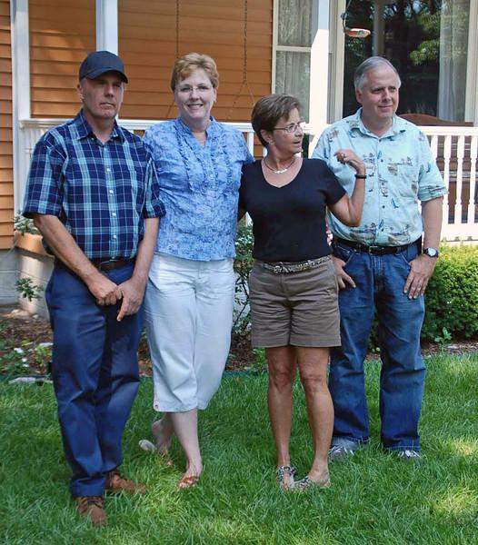 Mark Main, Jean Finkleman, Susan Levenson and Clifford Main.