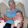 Helene Main with granddaughter Kaylee.