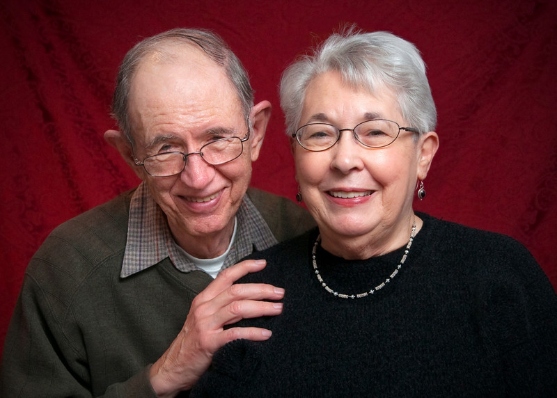 Mom and Dad, Dec 10, 2009