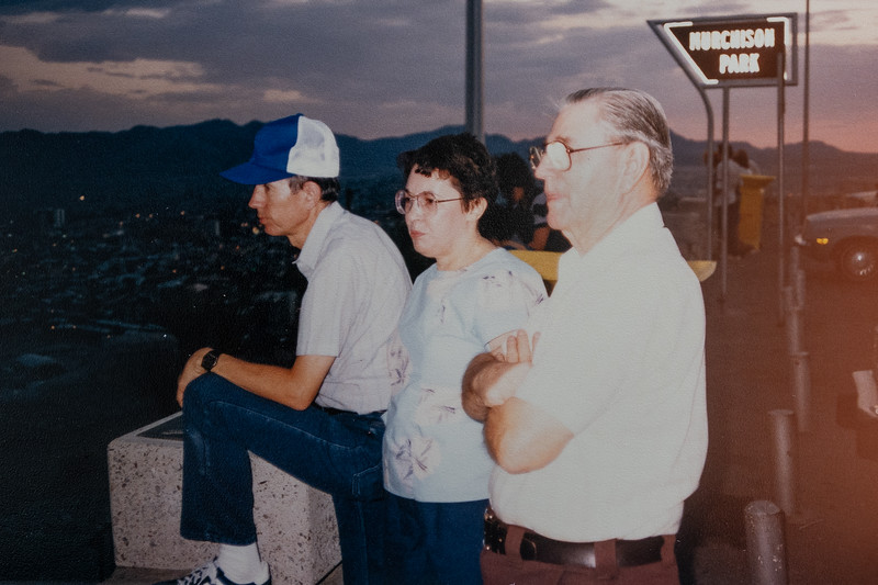 Jim, Betty, and Pink, 1985
