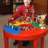 Logan's awesome Lego table