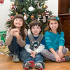 Logan and his cousins, Claire and Vivian