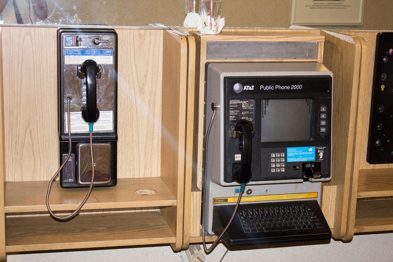 Wow!  Fancy pay phone.
