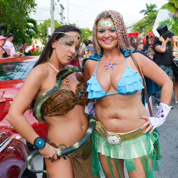 Fantasy Festival 2013, Key West, Florida, Heroes & Villains