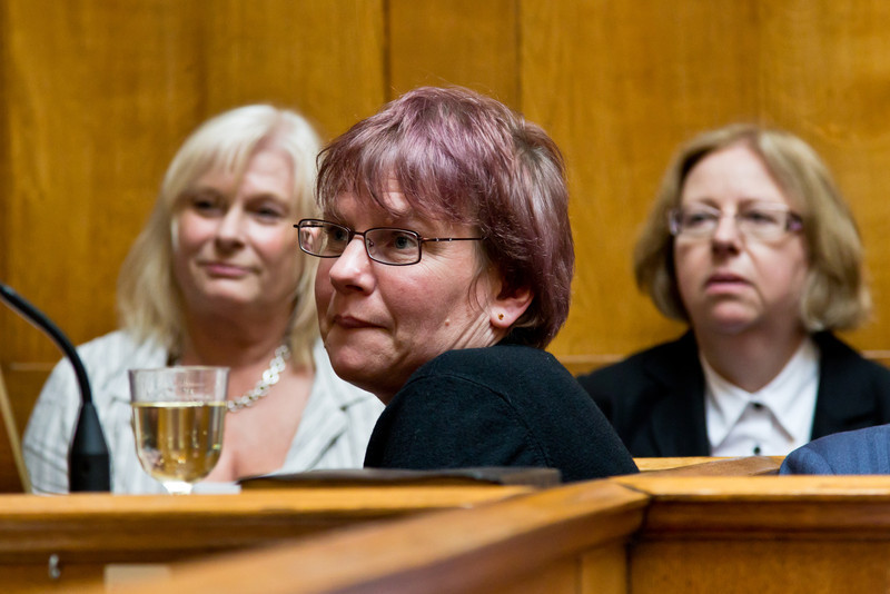 Lois. Pauline Pierce & Lydia Scmitt in the background.