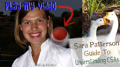 Video of Quail Hollow Farm tour in the fall of 2012. Quail Hollow Farm is 1 hour north of Las Vegas, NV. Seventeen year old Sara Patterson guides us from the greenhouse to the hoop house to the crop fields at Quail Hollow Farm in this video. She discusses the advantages of Biodynamic farming practiced at Quail Hollow Farm as well as the function of the chickens, goats and pigs in this sustainable farm. Video and editing by Kiki Kalor.