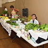 Leonie Potts from Potts Family Farm and Dee Hendrix of My Mother's Garden offered their produce...and I bought some!