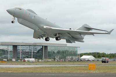 Sentinel R1 surveillance aircraft, Farnborough 2008