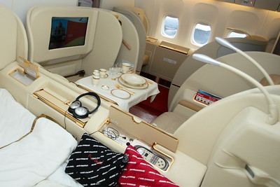 Air India 777 1st Class, Farnborough 2008