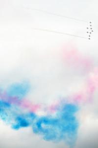 Red Arrows, Farnborough 2008