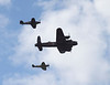 Battle of Britain Memorial Flight at Farnborough Airshow 2010
