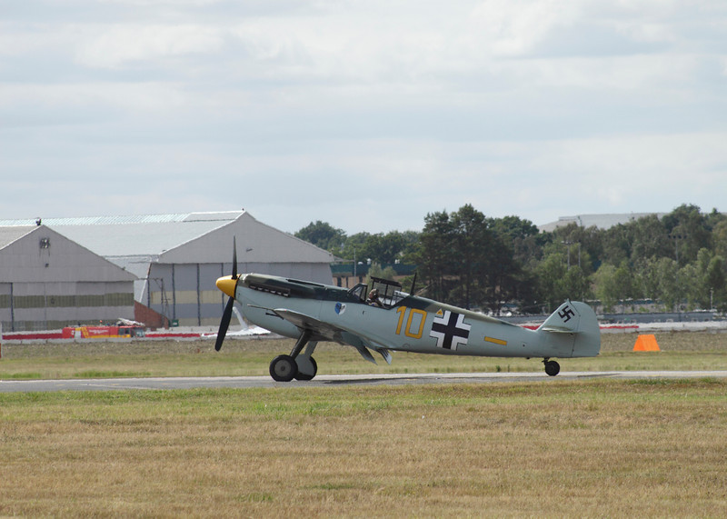 Messerschmitt BF 109 at Farnborough Airshow 2010