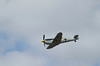 Messerschmitt BF 109 flying at Farnborough Airshow 2010
