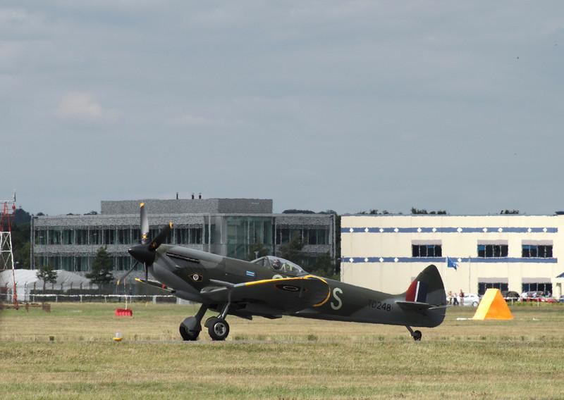 Supermarine Spitfire at Farnborough Airshow 2010