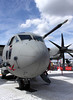 C27J Spartan airlifter on display at the Farnborough Airshow 2010