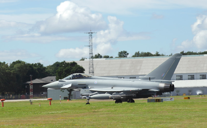 Eurofighter Typhoon at Farnborough Airshow 2016