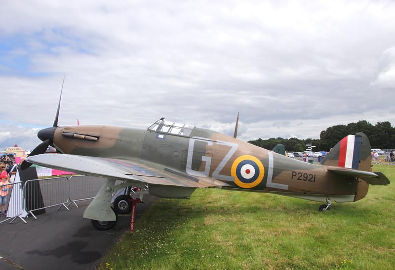 Hawker Hurricane Mk. 1 at Farnborough Airshow UK 2016