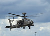 Farnborough Airshow UK 2016 Apache helicopter in flight