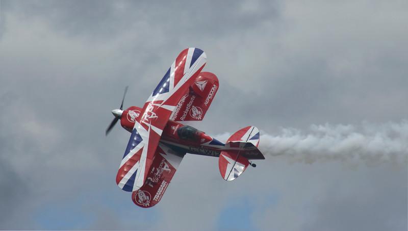 Farnborough Airshow UK 2016 Pitts Special flying aerobatics