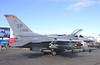 F-16 CJ Falcon USAF Fighter at Farnborough Airshow UK 2016
