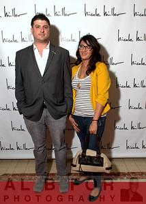 Jeremy Tenenbaum and Jessica Toh