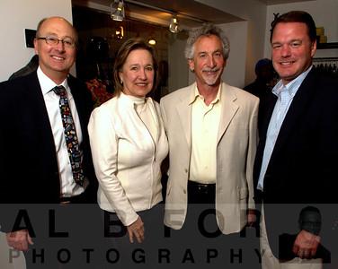Eric Newman, Sandy Lipstein, ?, with Carl Buchholz