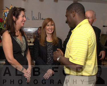 Mary K. Dougherty, Nicole Miller with Brian Bell