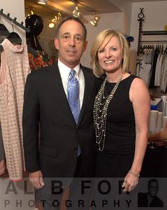 Michael Strange (Pres., Bassetts Ice Cream) and Eileen Les-Strange