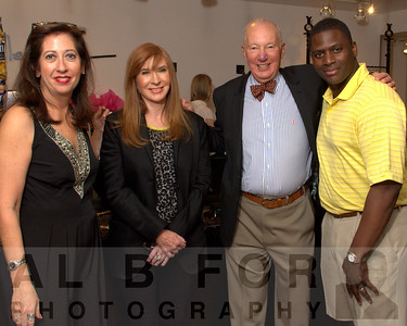 Mary K. Dougherty, Nicole Miller, ?,  with Brian Bell