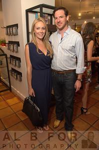 Amanda King and Brian Lipstein