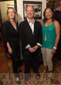 Margaret Hughes (Deputy City Representative), Scott Mirkin and Dr. Sandra Curet