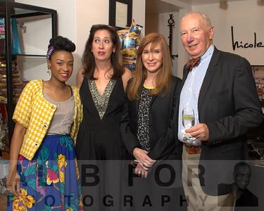 Rakia Reynolds (Skai Blue Media), Mary K. Dougherty, Nicole Miller and ?