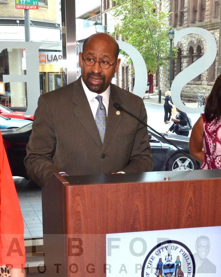 Mayor Michael A. Nutter