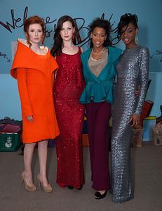 FIDM Models Chelsea Taylore, Kaleigh Cohen, Toria Turner, Symone Street