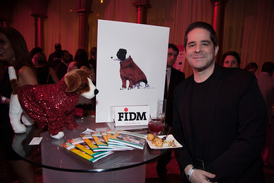 Lance Etchison at the FIDM table