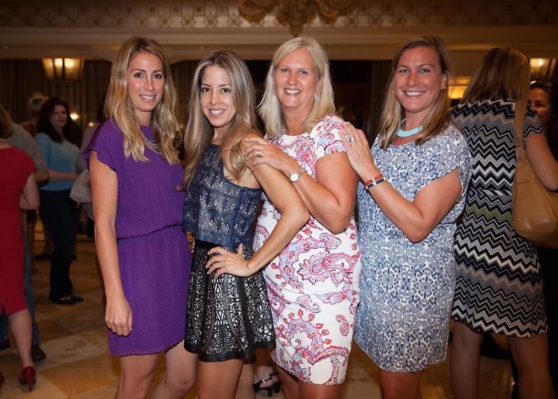 IMG_3444 Adele Catino, Sonia Hedvat, Jackie Hvolbeck and Stephanie Dunn Ashley