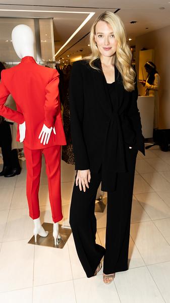 Fall Fashion Show at Bergdorf Goodman for Lafayette 148. Model Daria Mikhaylova