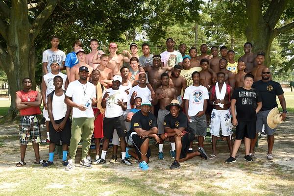 Fast Willie Parker Speed School Celebration 2015-07-29