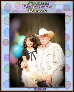 Father Daughter Dance Individual 8x10's
