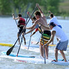 "Racers compete in the 1-mile paddleboard race as part of the Father's Day activities at the Boulder Reservoir on Sunday.<br /> For more photos of the races, go to  <a href=""http://www.dailycamera.com"">http://www.dailycamera.com</a>. or  <a href=""http://www.timescall.com"">http://www.timescall.com</a>.<br /> Cliff Grassmick / June 17, 2012"