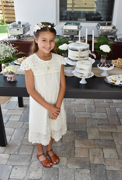 Faustina's 1st Communion