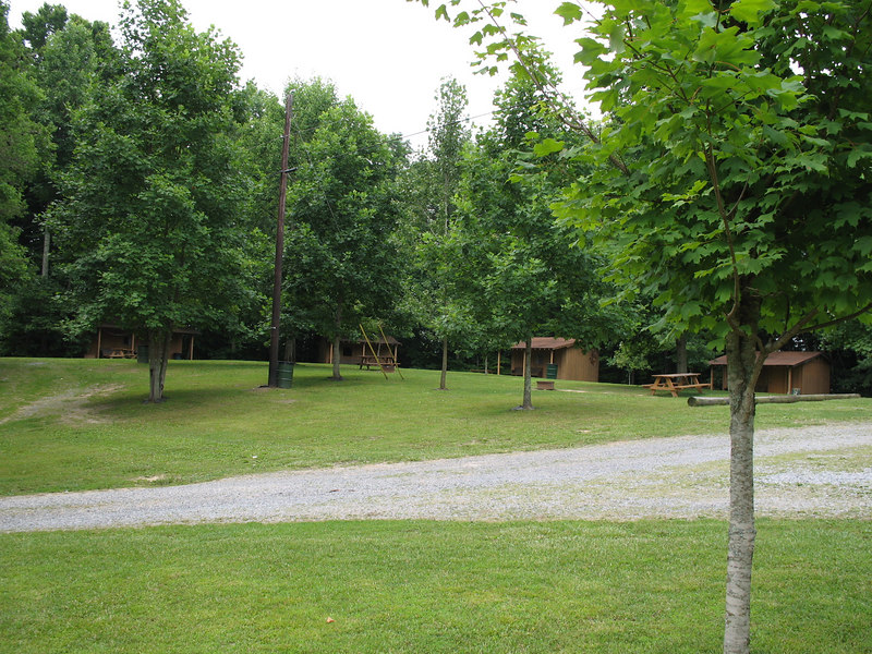 cabins/tent camping