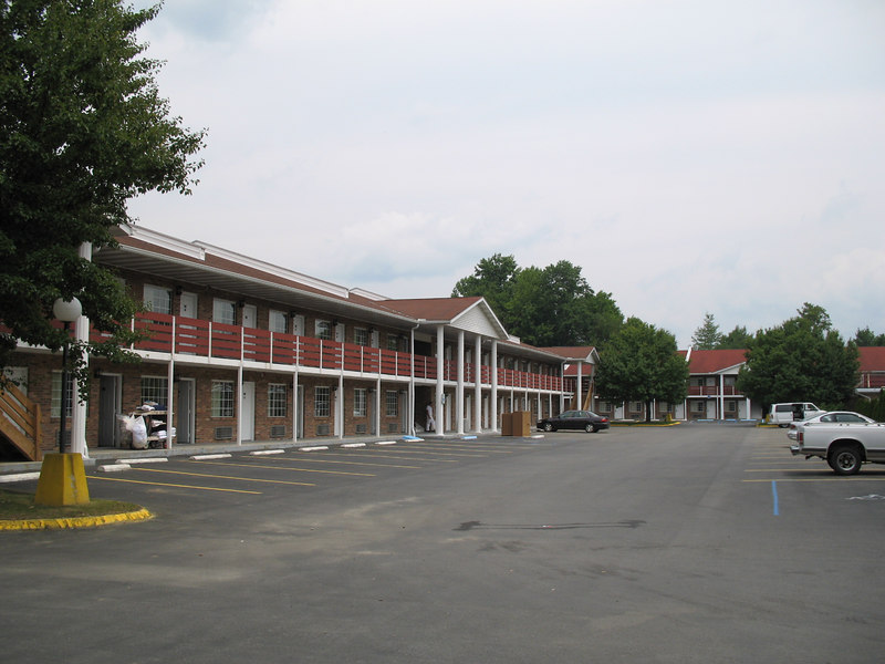left side of motel